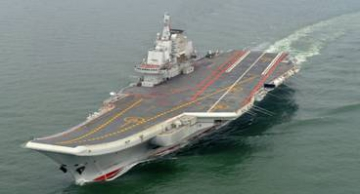 Le porte-avions Liaoning. Archive photo