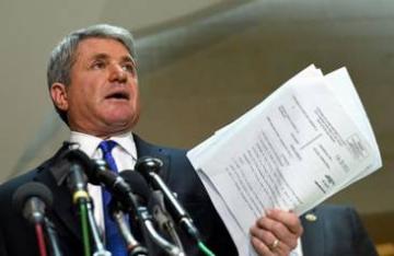 Le président du Département de la sécurité intérieure Michael McCaul vient de faire l'annonce de DAMNING