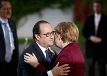 Angela Merkel et François Hollande