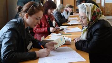 Crimée: l'adhésion à la Russie votée par 93% des électeurs  (sortie des urnes)