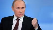 Poutine, droit dans ses bottes, concernant le soutien au gouvernement syrien