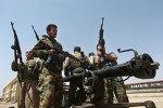 Des miliciens kurdes