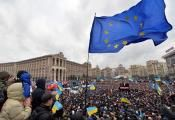 Place Maidan Kiev, Ukraine