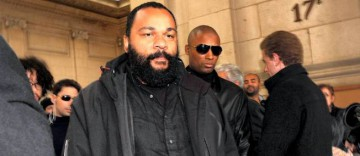 Photo d'illustration - Dieudonné, au palais de justice de Paris.