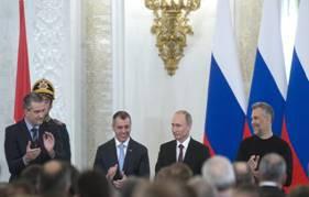 La Crimée et Sébastopol font partie de la Russie (Kremlin)