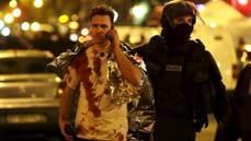 Cet homme vient d'échapper au carnage qui a frappé la salle de concert du Bataclan