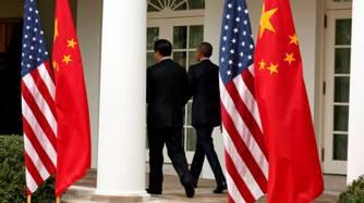 Le président américain Barack Obama et son homologue chinois Xi Jinping